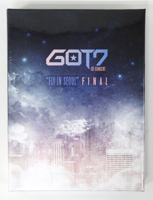 GOT7 - 1st CONCERT [FLY IN SEOUL] FINAL [DVD] +Photobook+Poster+Free Gift