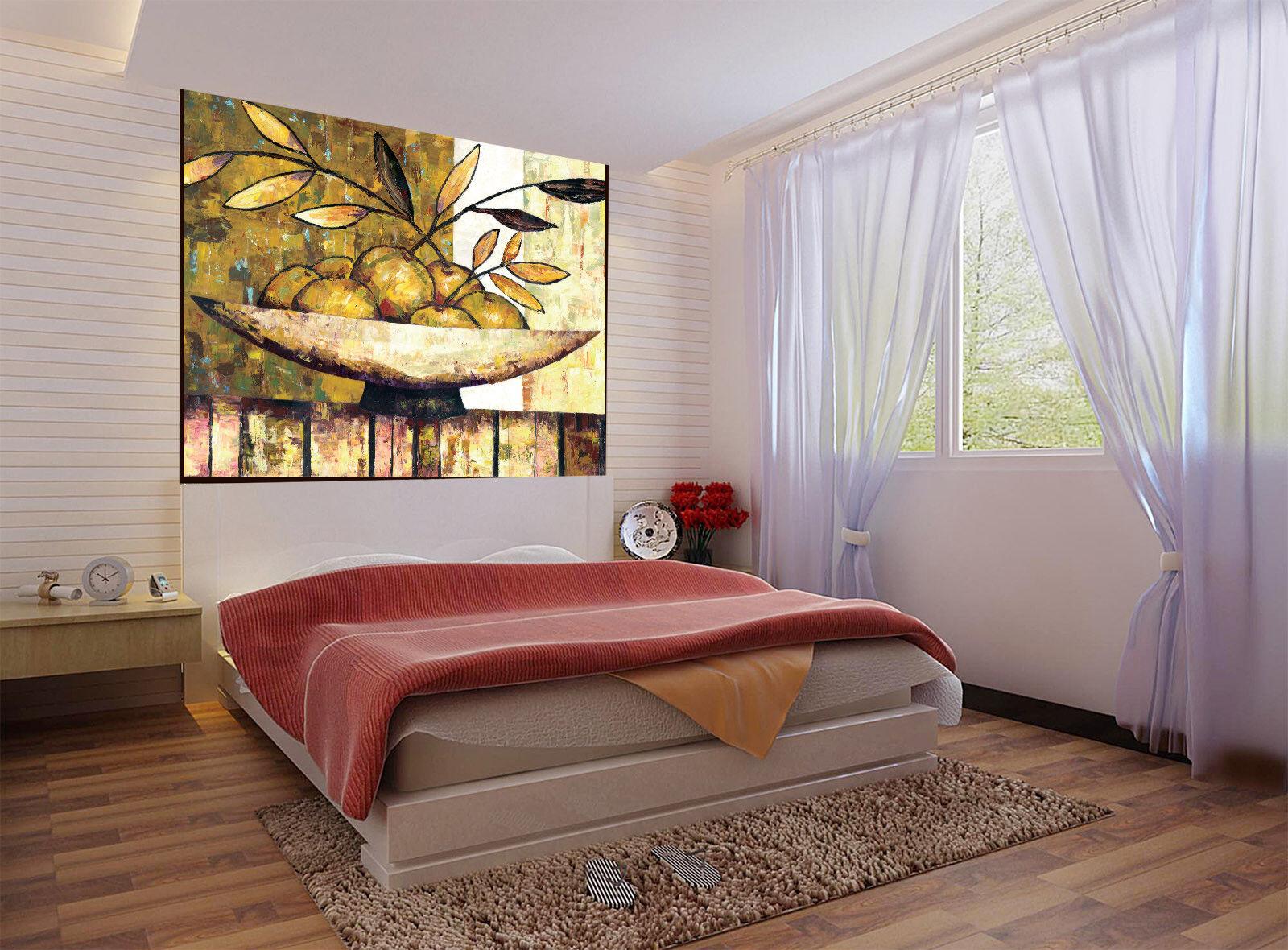 3D Obst Ölgemälde 743 Tapete Wandgemälde Tapete Tapeten Bild Familie DE Summer | Moderne und elegante Mode  | Creative  | Genialität