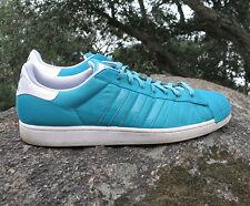 Men's Adidas Superstar 2 Aero Reef-Runninwhite Athletic Shoes Size 18 M Aquamari
