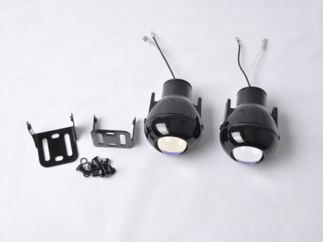 GEE Universal Car Halogen HID Fog Lamps Lights With H3 12V 55W New White