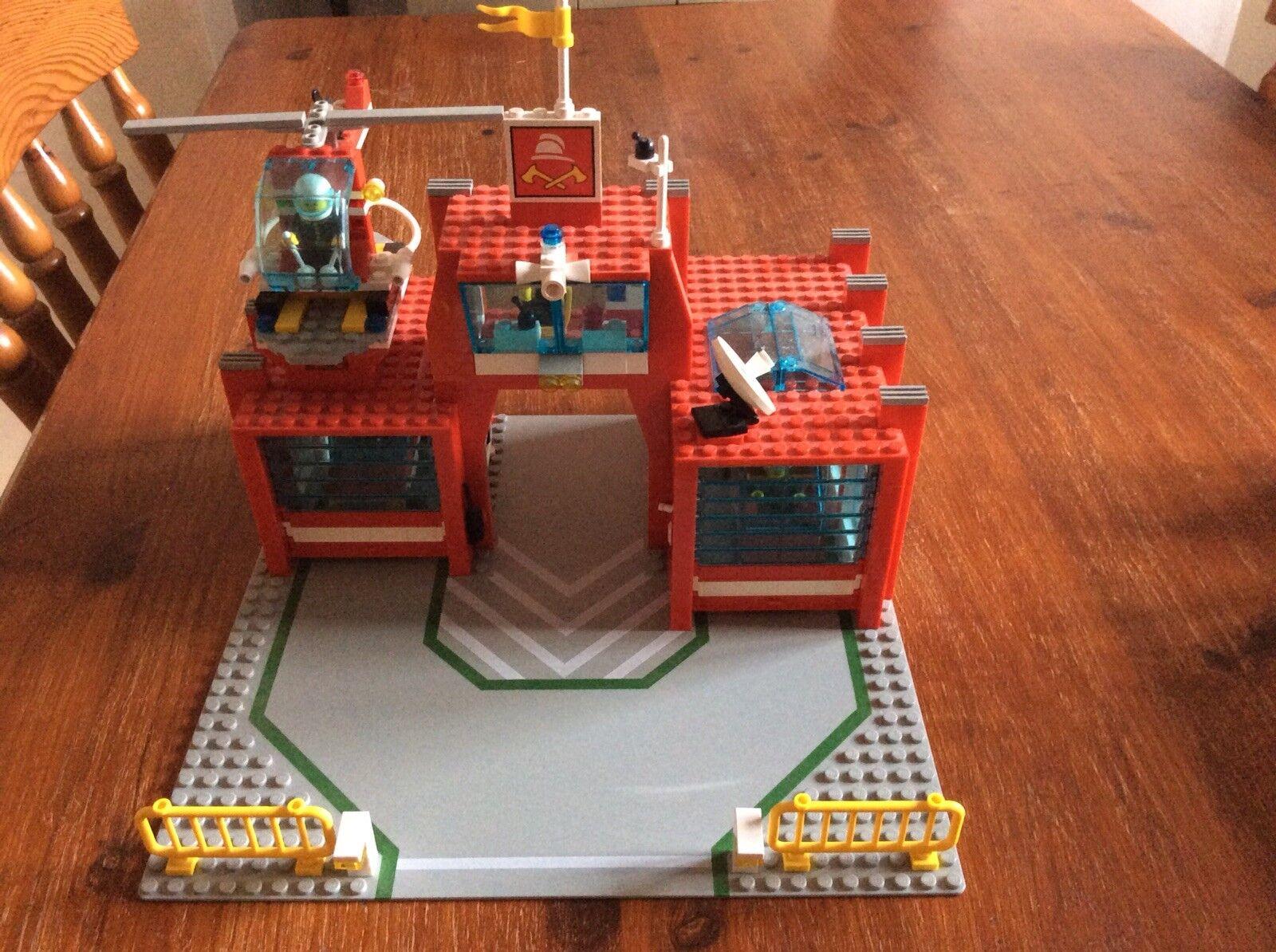 Lego Vintage 6389 6389 6389 Fire Control Centre (1990) acdcc6