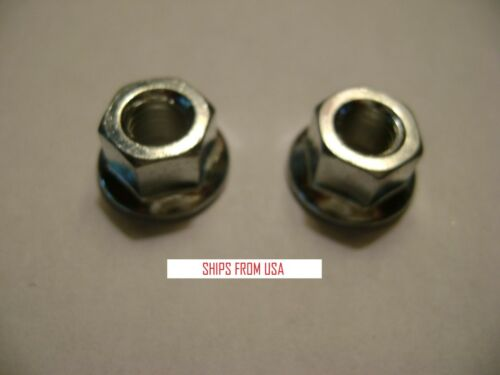 2 NEW 8mm FLANGED BAR NUT FOR HUSQVARNA JONSERED ECHO CHAINSAW 503220001 DR54