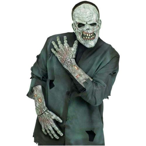 Fun World Zombie 3D Gants Avec des Armes Accessoires Costume Adulte Gants