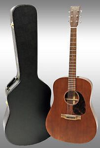 martin d 15m mahogany 15 series acoustic guitar with hardshell case include 729789399630 ebay. Black Bedroom Furniture Sets. Home Design Ideas