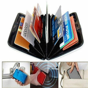 New-RFID-Blocking-Aluminum-Credit-Card-Holder-Aluma-Case-Anti-Scan-Wallet-Hard