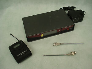 Sennheiser EW100 G2 Transmitter/Re<wbr/>ceiver Set with PSU/Aerials