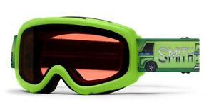 Smith-Gambler-Youth-Snow-Goggles-Limelight-Van-Life-RC36-Lens-Kid-039-s-New-2021
