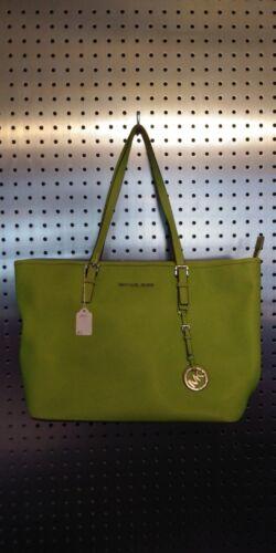 Michael Kors lime green shoulder bag
