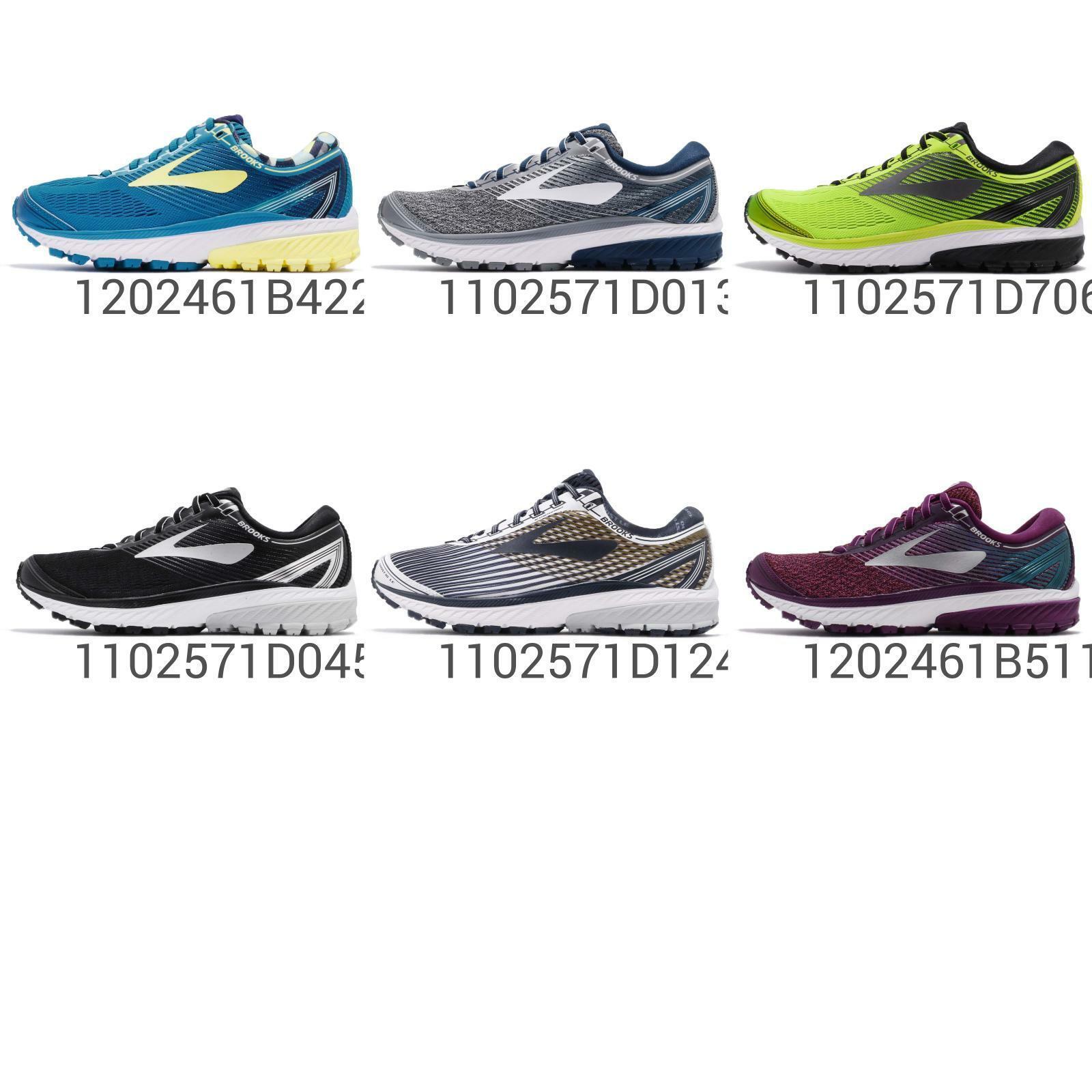 Brooks Ghost 10 Hommes Femmes neutre Coussin Road FonctionneHommest chaussures paniers Pick 1