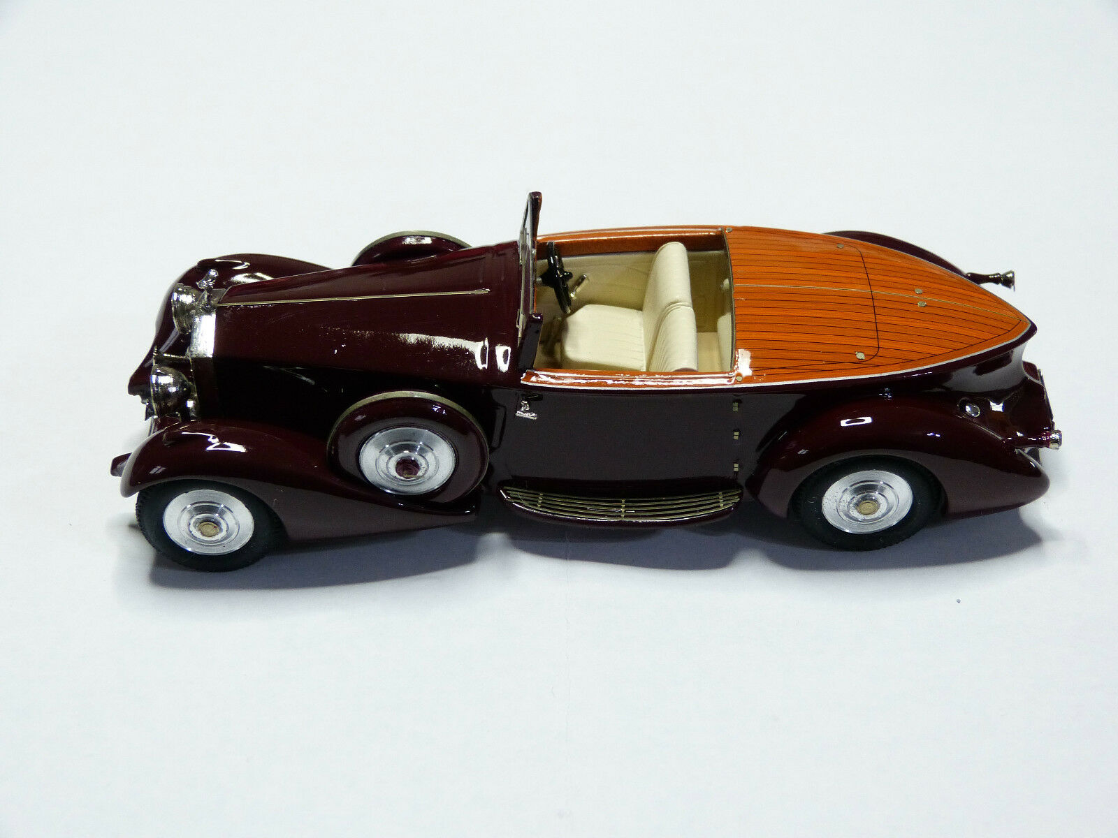 Miniature auto CCC   Rolls Royce Phantom II 125 RY Muliner 1934 réf 202