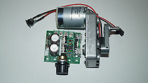 Getriebemotor-Gleichstrom-Motor-6-12V-abnehmbare-Kurbel-mit-PWR-Reglung