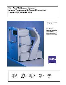 Humphrey-Acuitus-Auto-refractor-Keratometer-5015-Manual