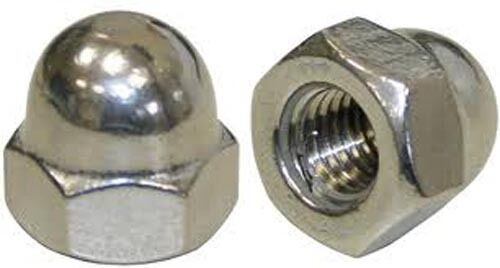 Stainless Steel M5 Acorn Cap Nut A2 304pack of 10