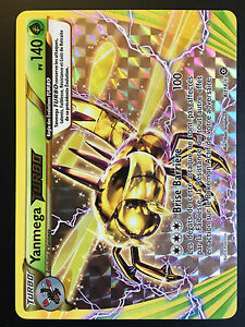 Carte-Pokemon-YANMEGA-8-114-Ultra-Rare-TURBO-XY11-Francaise-NEUF