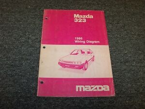Details about 1986 Mazda 323 Sedan Electrical Wiring Diagram Manual on mazda 626 wiring-diagram, mazda rx8 wiring diagram, mazda 6 wiring diagram, mazda tribute wiring diagram, mazda protege wiring diagram, mazda 323 wheels, mazda 5 wiring diagram, mazda 323 oil filter, mazda mpv wiring diagram, miata engine diagram, mazda b2200 wiring diagram, mazda 626 engine diagram, mazda 3 wiring diagram, mazda millenia wiring diagram, 1988 toyota pickup parts diagram, mazda miata wiring diagram, mazda b3000 wiring diagram, mazda 323 engine, mazda b2600 wiring diagram, mazda b2000 wiring diagram,