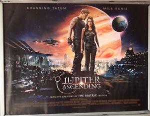 Cinema Poster Jupiter Ascending 2015 Quad Channing Tatum Mila Kunis Ebay
