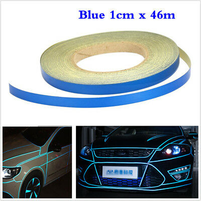 5M x 1CM Light Car Truck Reflective Stripe Sticker Self Adhesive DIY Tape Roll