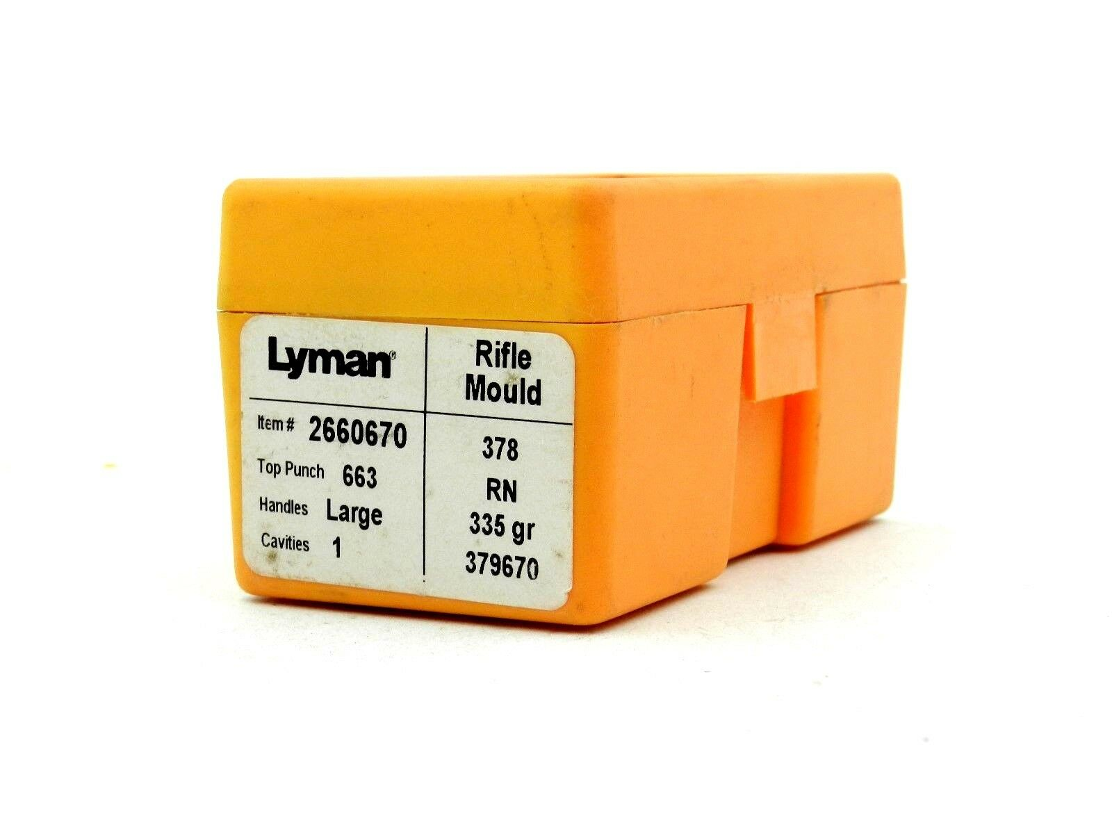 Lyman Top Punch 663 RN - 335 gr - 379670 ()