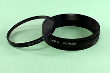 Leica Filter Adapter Ring #14165, 72 mm screw-in with a B & W Series 8 UV filter