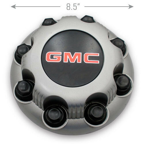 Oem GMC Sierra Savanna Yukon 2500 3500 Silver 8-lug Wheel Center Hub Cap