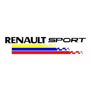 sticker renault sport ref 64 racing tuning autocollant sport twingo clio megane ebay. Black Bedroom Furniture Sets. Home Design Ideas