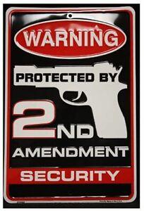 2ND-AMENDMENT-SECURITY-TIN-SIGN-GUN-AND-AMMO-METAL-POSTER-WALL-ART-DECOR