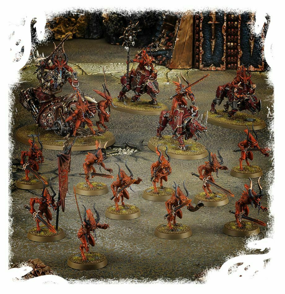Estrellat Collecting  Daemons of Khorne nuovo  Chaos Daemons  vendita outlet