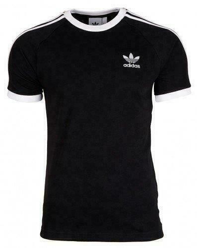Adidas Mens New Summer T Shirt Originals Short Sleeve Tee 3 Stripes 4 Colours