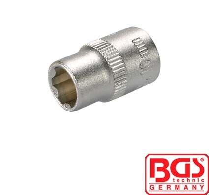 "BGS Tools 1//4/"" /""Super Lock/"" Socket 10mm 2350"