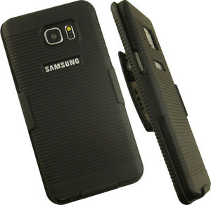 NEW-BLACK-HARD-CASE-COVER-BELT-CLIP-HOLSTER-STAND-FOR-SAMSUNG-GALAXY-NOTE-5