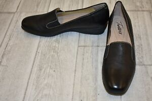 9b29a33b8ca Trotters Lamar Slip On Shoes - Women s Size 6N - Black NEW ...