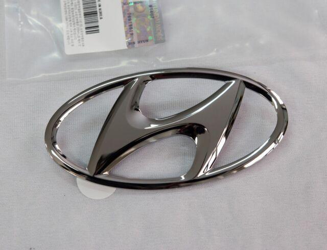 Hyundai Genuine Oem Front Bumper H Emblem Badge 863002b100 Ebay