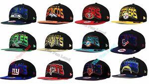 New-NFL-All-Colors-New-Era-9FIFTY-Snapback-Cap-Hat