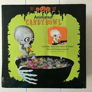 Animated Candy Bowl - Witch Hand