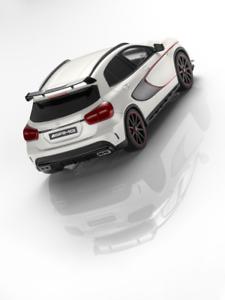Mercedes-benz 1:18 coche modelo GLA 45 AMG x156 limitado a 1000 trozo