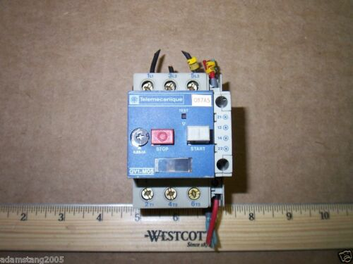 Telemecanique GV1-M05 Motor Overload Protector 1Amp Max