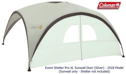 2018 Model Coleman Event Shelter Pro XL Sunwall Door Silver