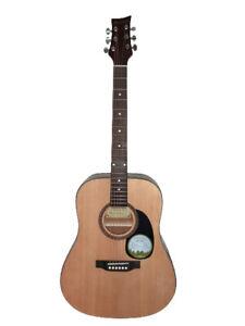 Acoustic Guitar Beaver Creek BCTD101 Natural 41 inch full size Free Gig bag,pick
