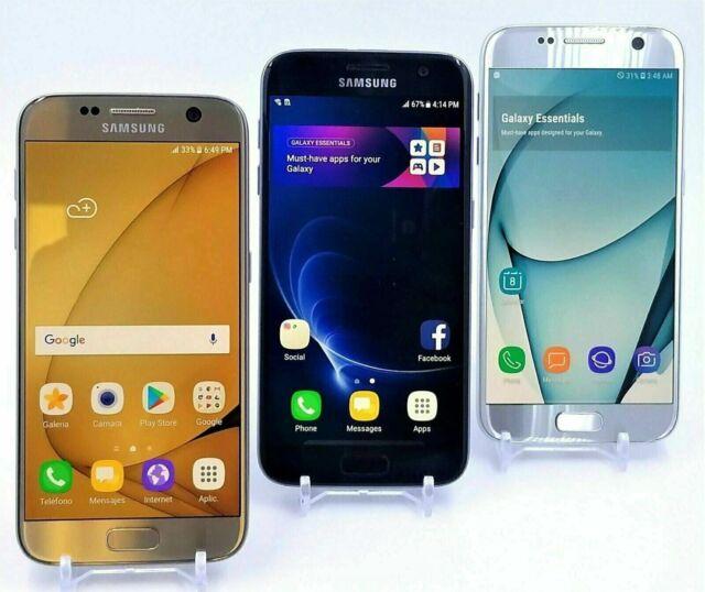 Samsung Galaxy S7 (SM-G930) 32GB Verizon/AT&T/T-Mobile/GSM Unlocked Clean IMEI