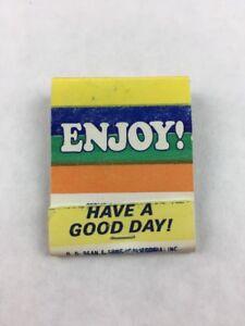 Vintage-King-Edward-Cigars-Promotional-Matchbook-Enjoy