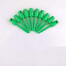 10x Green 23 Test Clip Smd Grabber Ic Hook Multimeter Probe 57cm Usa