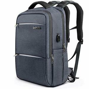 Inateck Laptop Backpack with USB Charging Port School Bag Business Backpack 15.6