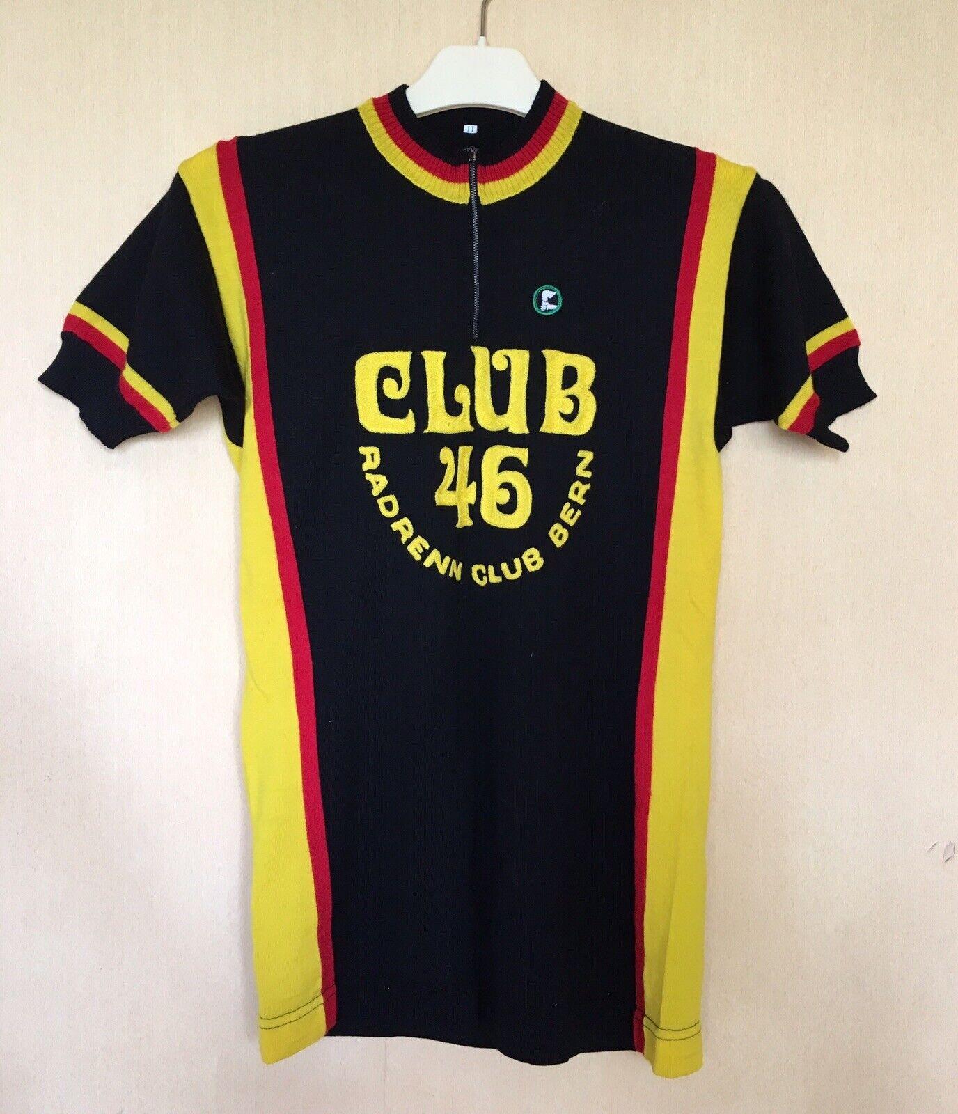 CYCLING JERSEY VINTAGE TRIKOT CLUB 46 RADENN CLUB BERN VITTORE GIANNI EROICA