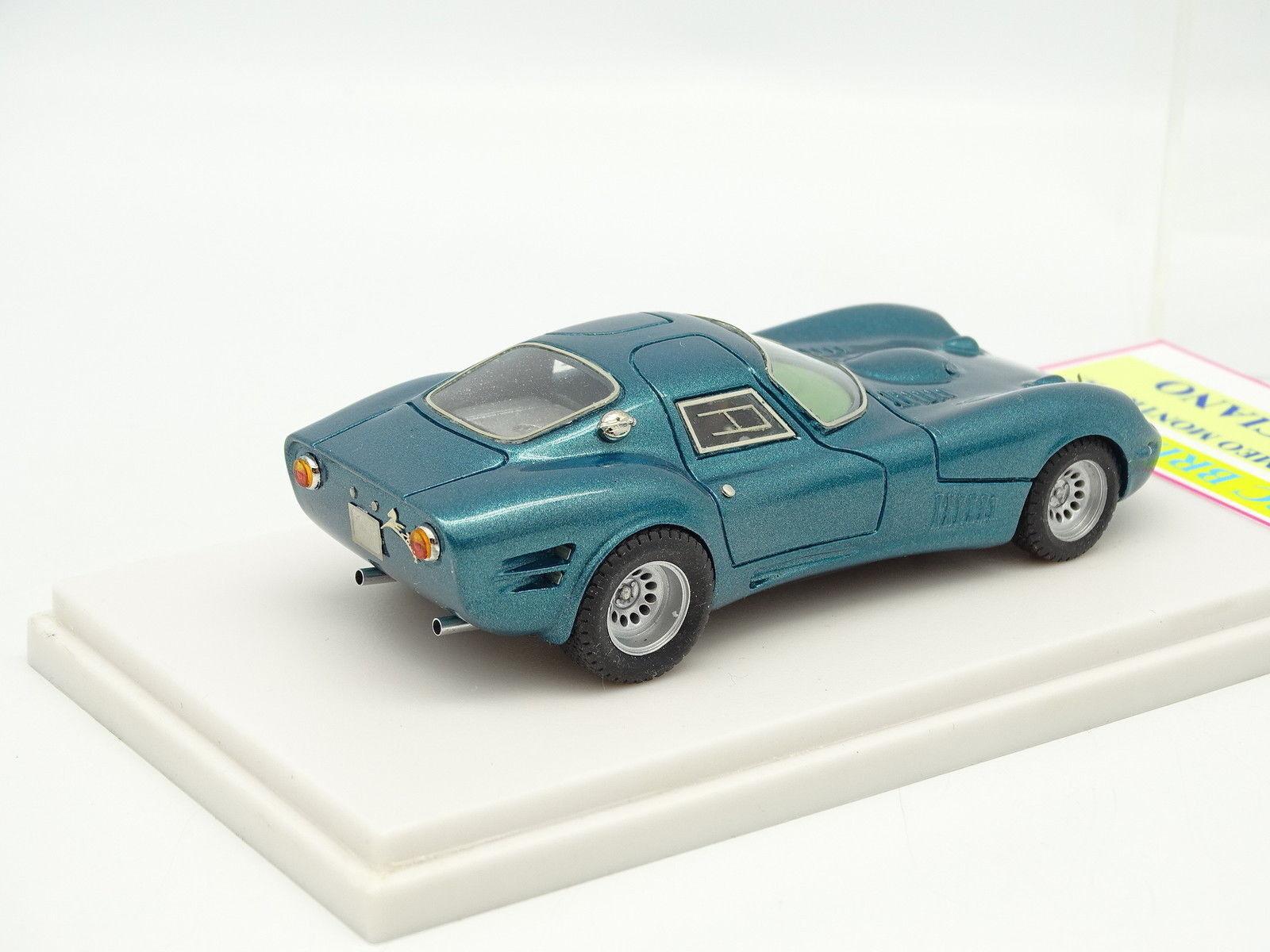 ABC Brianza Kit Kit Kit monté 1/43 Alfa Romeo Montreal Marciano Bleue | Ont Longtemps Joui D'une Grande Renommée  a83b11