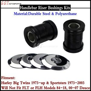 Motorcycle-Front-Handlebar-Riser-Bushing-Kits-For-Harley-Big-Twins-amp-Sportsters