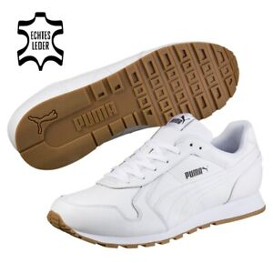 Puma ST Runner Full Leather 40.5-48.5 Hommes Vintage Retro Sneaker softfoam + NEUF