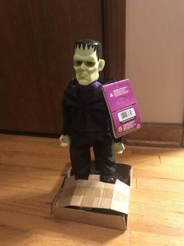 Gemmy Animated Rare Rockin Ravers Frankenstein Dancing Grave Raver BRAND NEW
