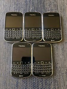 5-BlackBerry-9930-Bold-Verizon-At-amp-t-Lot-Parts-Only-Great-Condition