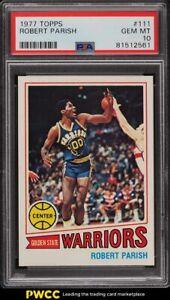 1977 Topps Basketball Robert Parish ROOKIE RC #111 PSA 10 GEM MINT