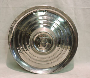 1950's MERCURY MESSENGER MAN HUBCAP PROFILE DECOR